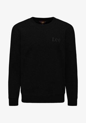 REFINED APPLIQUE  - Sweatshirt - black