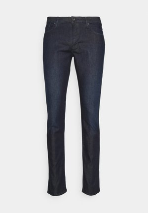 POCKETS PANT - Jean slim - dark blue denim