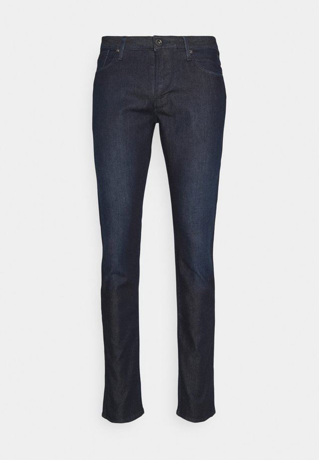 POCKETS PANT - Džíny Slim Fit - dark blue denim