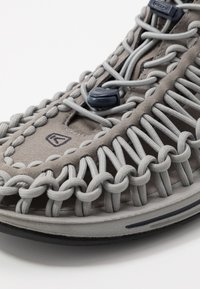 Keen - UNEEK - Walking sandals - steel grey/drizzle - 5