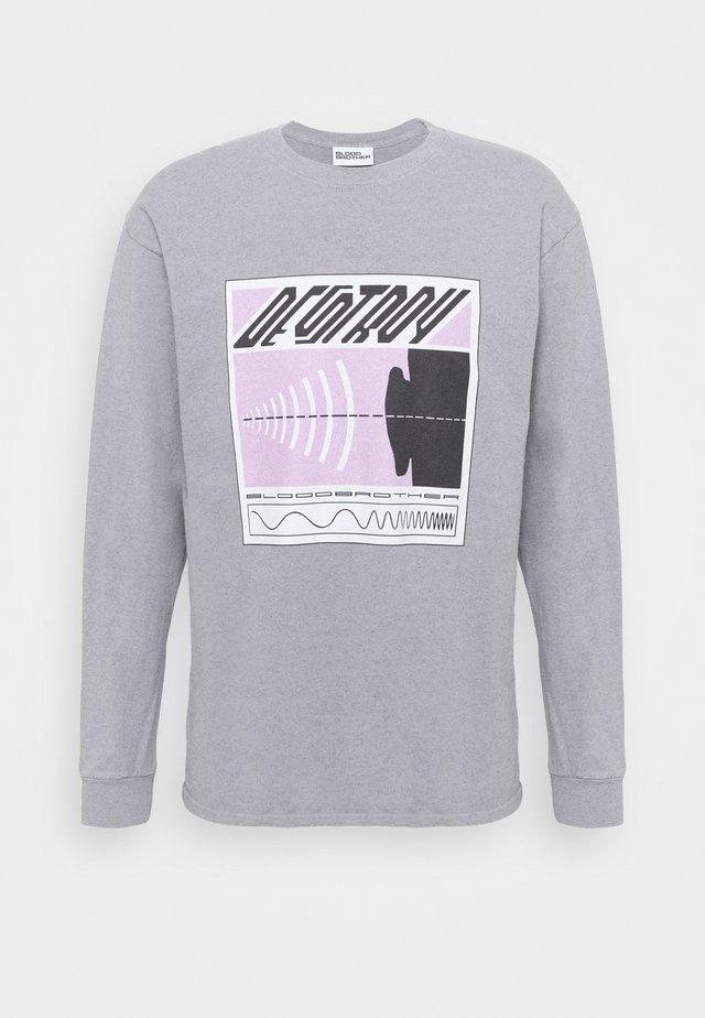HARLEM TEE - Sweatshirt - grey web