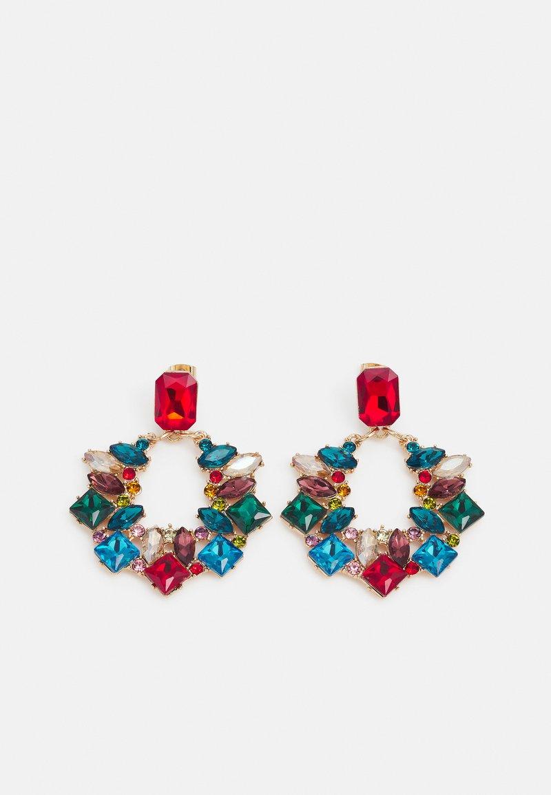 Fire & Glory - FGCARMEX EARRINGS - Earrings - gold-coloured/multi