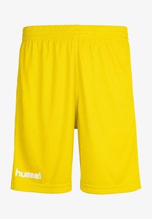Sports shorts - sports yellow pr