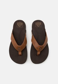 Reef - NEWPORT - Sandály s odděleným palcem - tan - 3