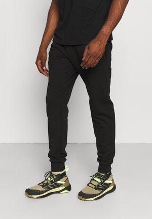 MAN LONG PANT - Teplákové kalhoty - nero