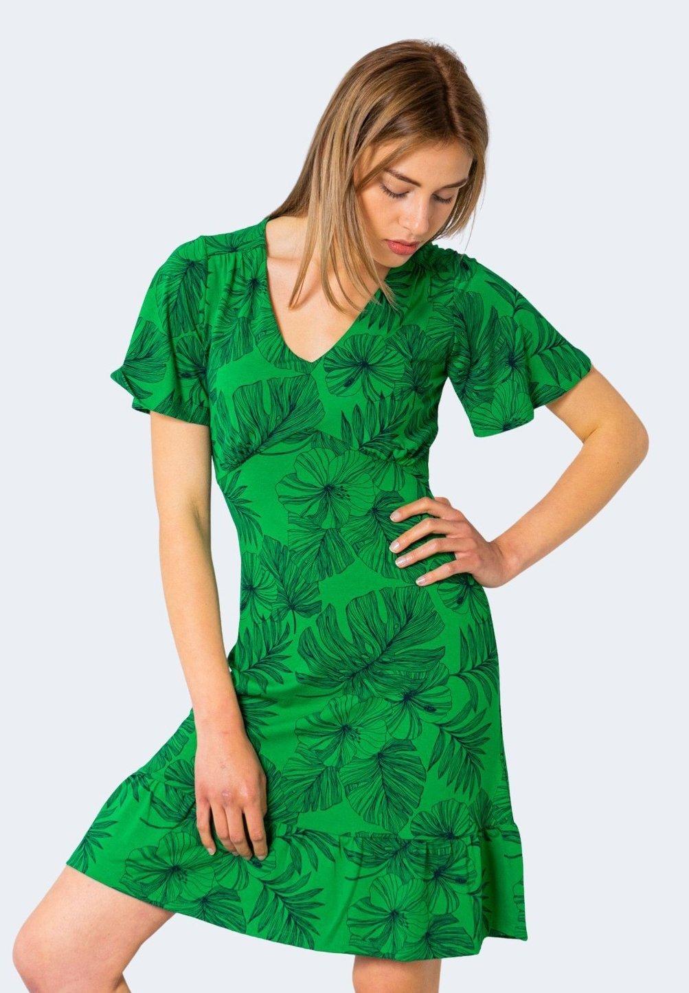 Desigual Nadia Freizeitkleid Green Grun Zalando De