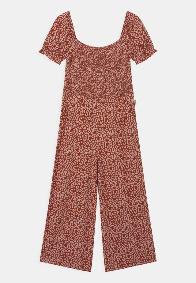 AGNES - Jumpsuit - brique