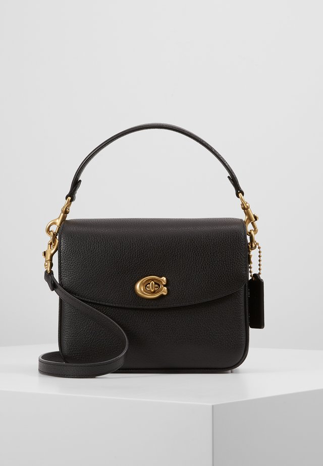 POLISHED PEBBLED CASSIE CROSSBODY - Sac à main - black
