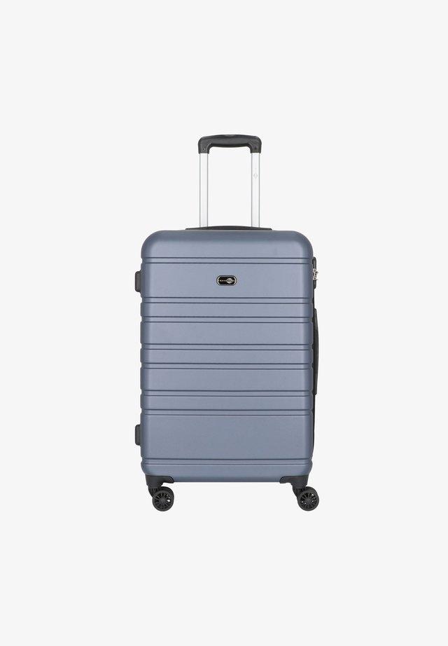 HAMBURG - Wheeled suitcase - blau