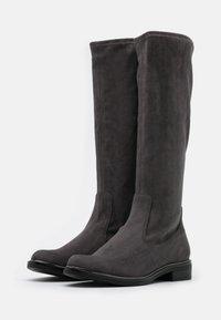 Caprice - BOOTS - Vysoká obuv - dark grey - 2