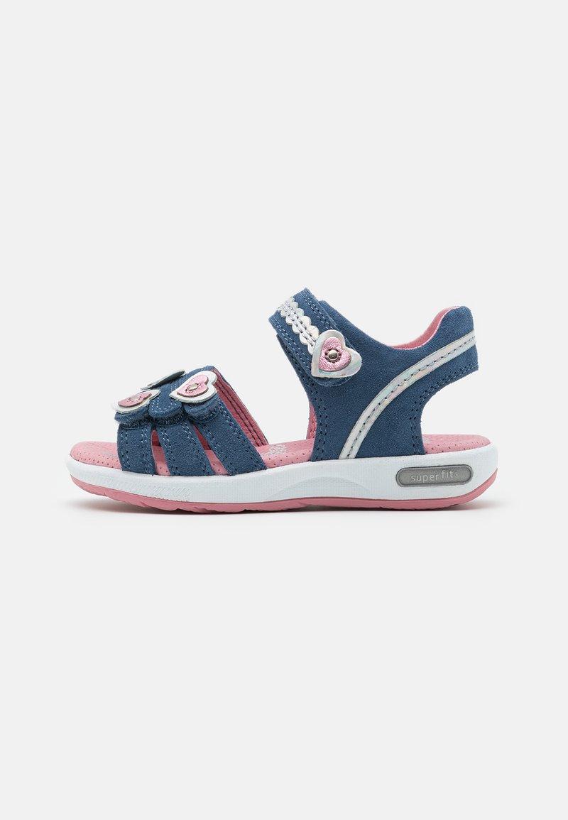Superfit - EMILY - Sandals - blau/rosa