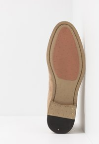 Topman - SUMMER CHELSEA - Classic ankle boots - stone - 4