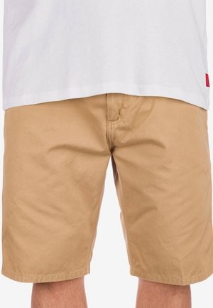 Shorts - stone wash dusty h brown