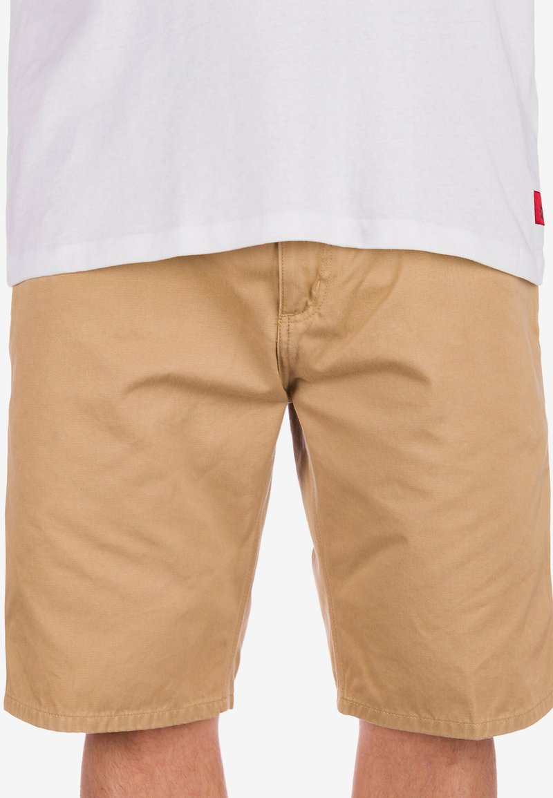 Carhartt WIP - Shorts - stone wash dusty h brown