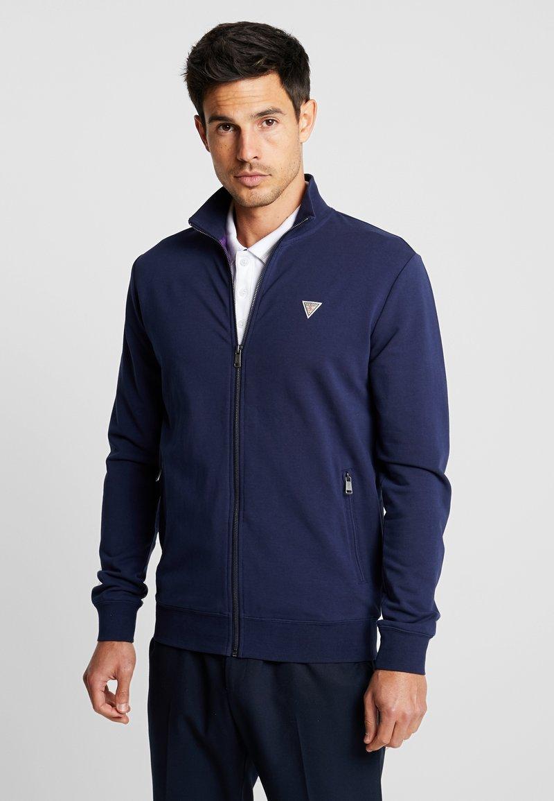 Guess - FOX TRACK  - Zip-up hoodie - blue navy