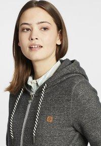 Oxmo - CELIA - Zip-up sweatshirt - black - 3