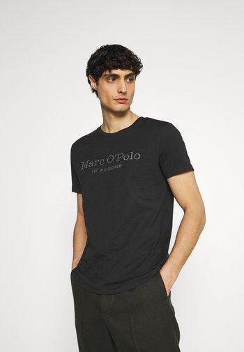 SHORT SLEEVE - Print T-shirt - black