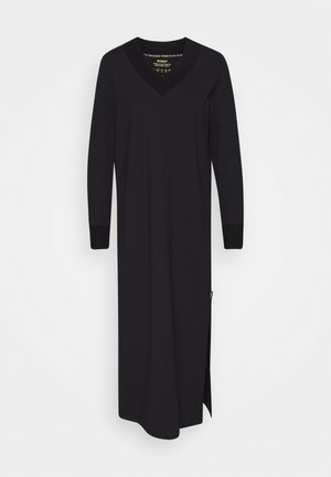 LAKE DRESS WOMAN - Maxikjole - black