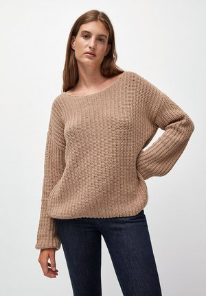 SAADIE - Jumper - light camel