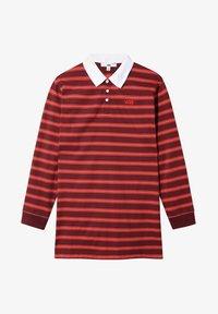 Vans - WM STRIPE POLO DRESS - Jersey dress - port royale - 2