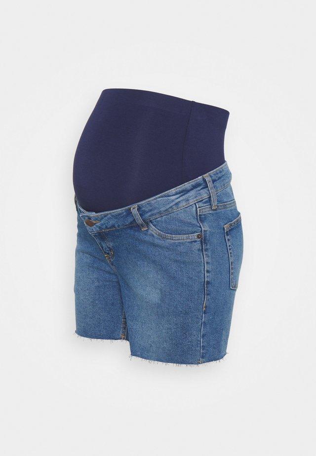 Shorts di jeans - mid wash
