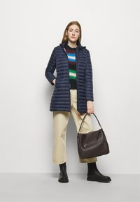 Save the duck - GIGA BRYANNA DETACHABLE HOODED - Winter coat - navy blue - 1