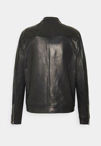 Replay - JACKET - Leather jacket - black - 1