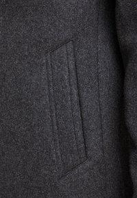 Jack & Jones PREMIUM - JPRCOLLUM - Short coat - dark grey melange - 5