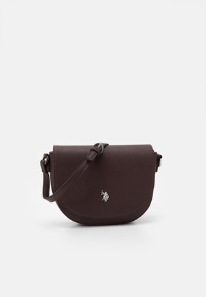 JONES FLAP BAG - Across body bag - brown
