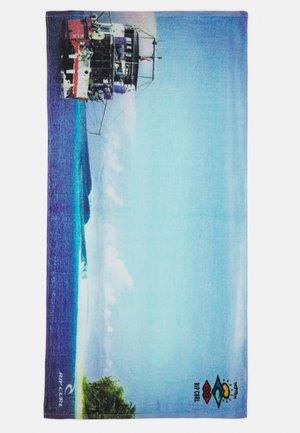 SEARCH LINE UP TOWEL - Bath towel - blue