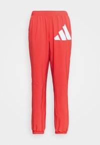 BOS PANT - Tracksuit bottoms - crered/white