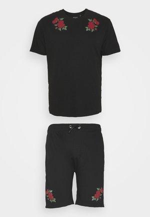 ROSE SET - T-shirt med print - black