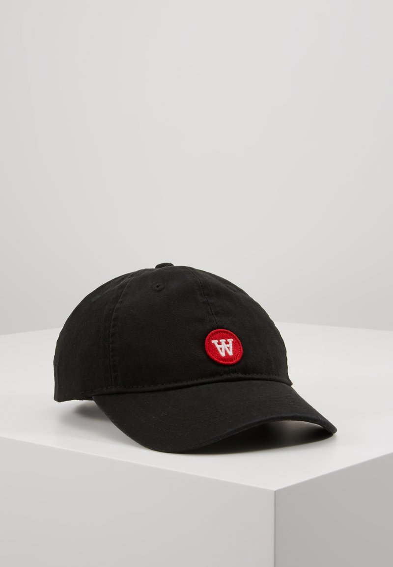 Wood Wood - SIM CAP - Gorra - black