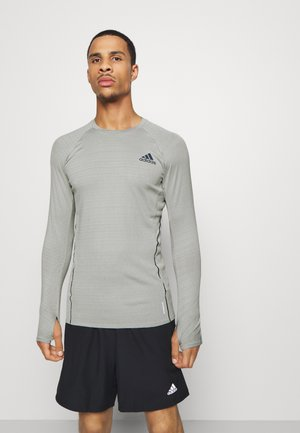 RUNNER - Sports shirt - metgrey