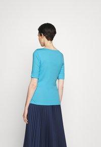 Lauren Ralph Lauren - JUDY - T-shirt basic - capri water - 2
