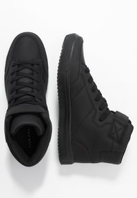 Pier One - High-top trainers - black - 1
