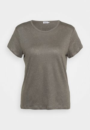 HAZEL TEE - Basic T-shirt - green/grey