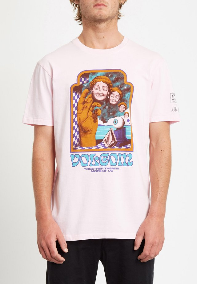 MAX LOEFFLER  - T-shirt con stampa - snow_pink