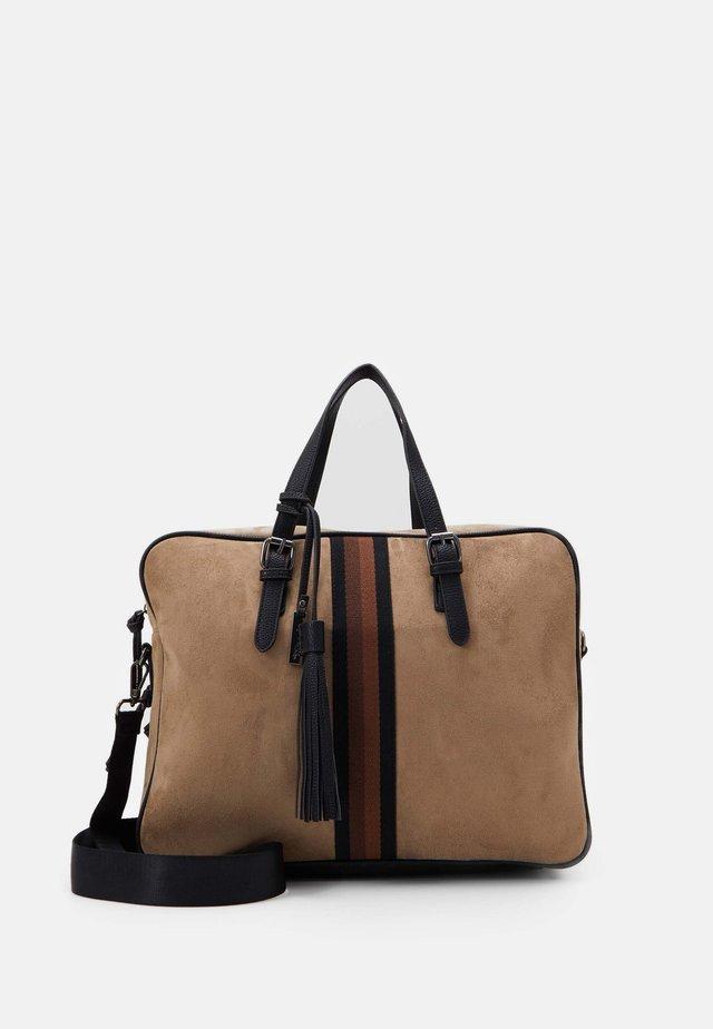BRENDA - Briefcase - taupe
