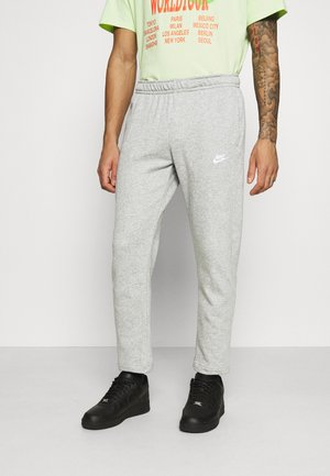 CLUB PANT - Joggebukse - grey heather/matte silver/white
