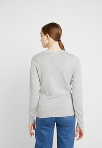 Hollister Co. - ICON CREW - Sweter - grey - 2