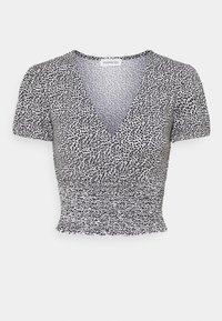 Even&Odd Petite - Print T-shirt - white - 0