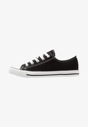 MARKED TOE CAP TOP UP - Baskets basses - black