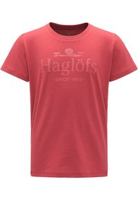 Haglöfs - CAMP TEE - Print T-shirt - brick red - 0
