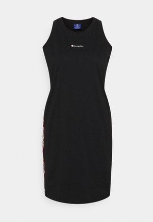 DRESS - Jerseyklänning - black