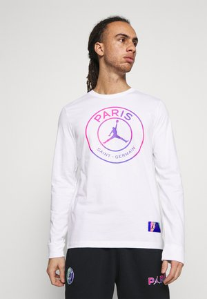 JORDAN PARIS ST GERMAIN TEE - Club wear - white
