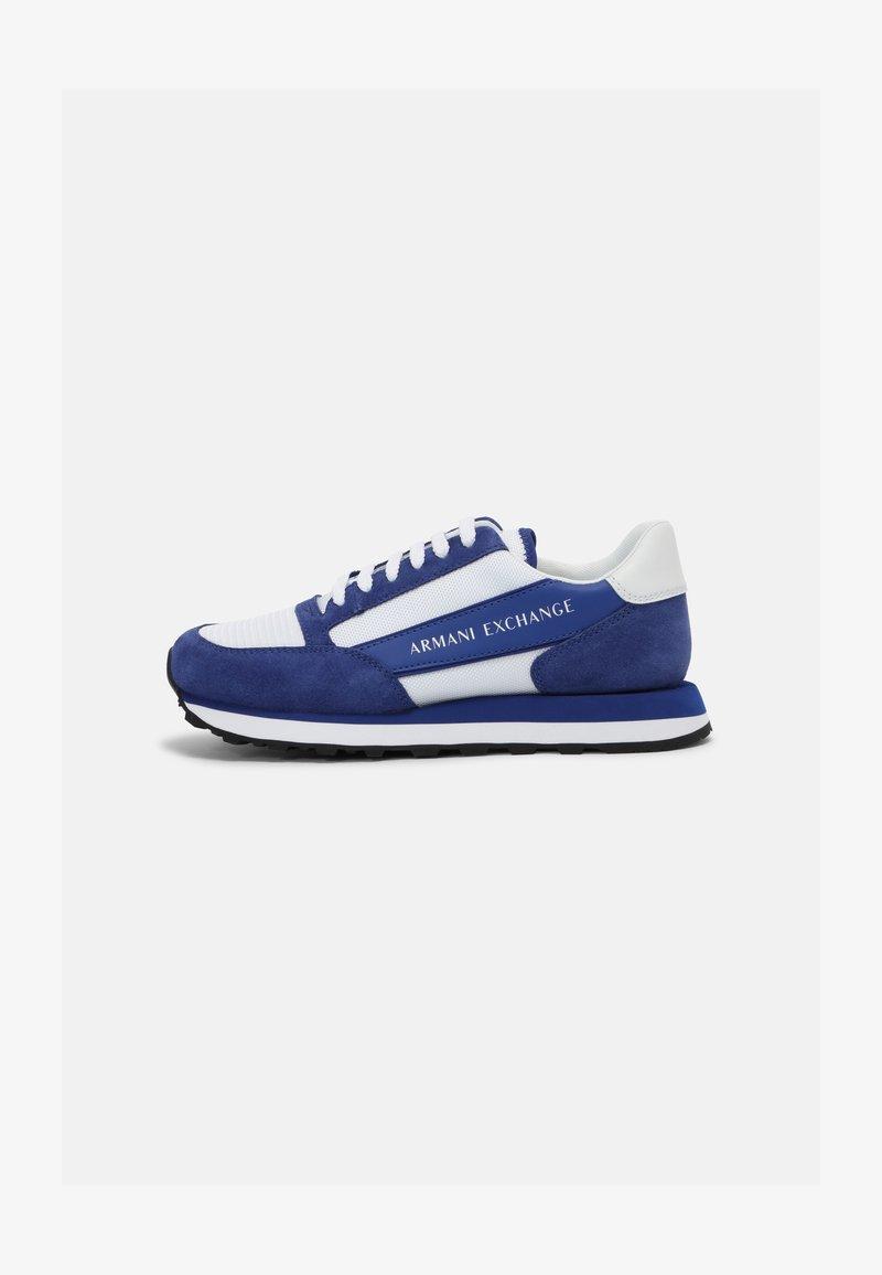 Armani Exchange - Sneakers basse - blue/white