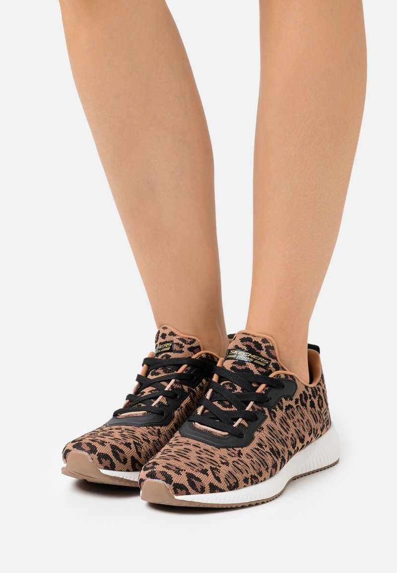 Skechers Sport - BOBS SQUAD - Trainers - brown