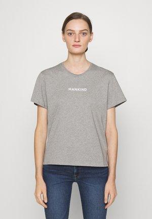 MANKIND TEE - T-shirt imprimé - grey