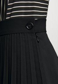 MM6 Maison Margiela - A-line skirt - black - 5